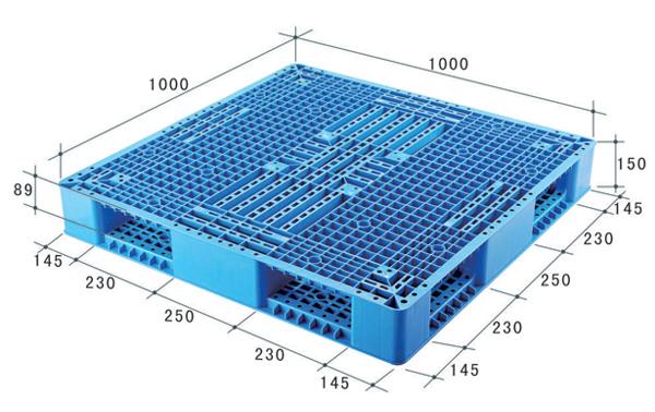 Reversible Plastic Pallets HP 1010 Size