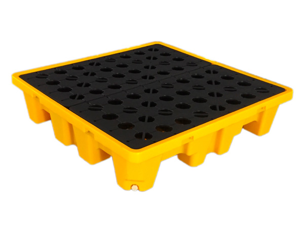 4 Drums Drum Spill Containment Pallet