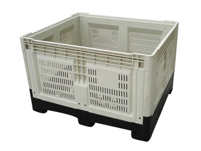 Perforated Plastic Pallet Containers